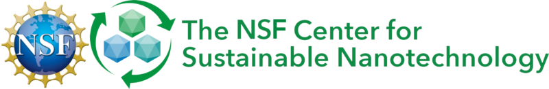 The Center for Sustainable Nanotechnology